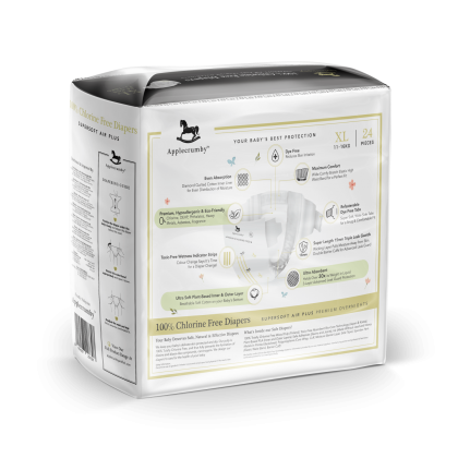 Applecrumby™ Chlorine Free Premium Baby Diaper Tape XL24