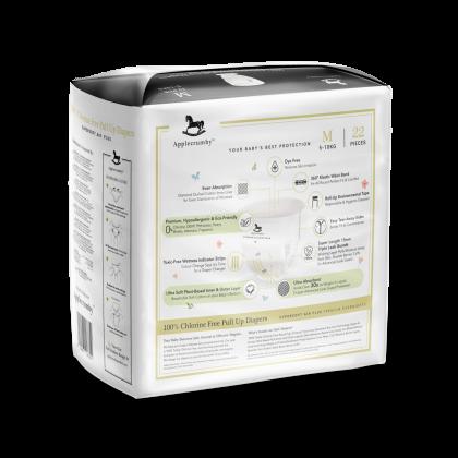 Applecrumby™ Chlorine Free Premium Baby Pull Ups Diapers M22