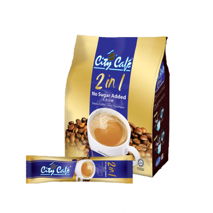 CITYCAFE 2 in 1 No Sugar Added Instant CoffeeMix